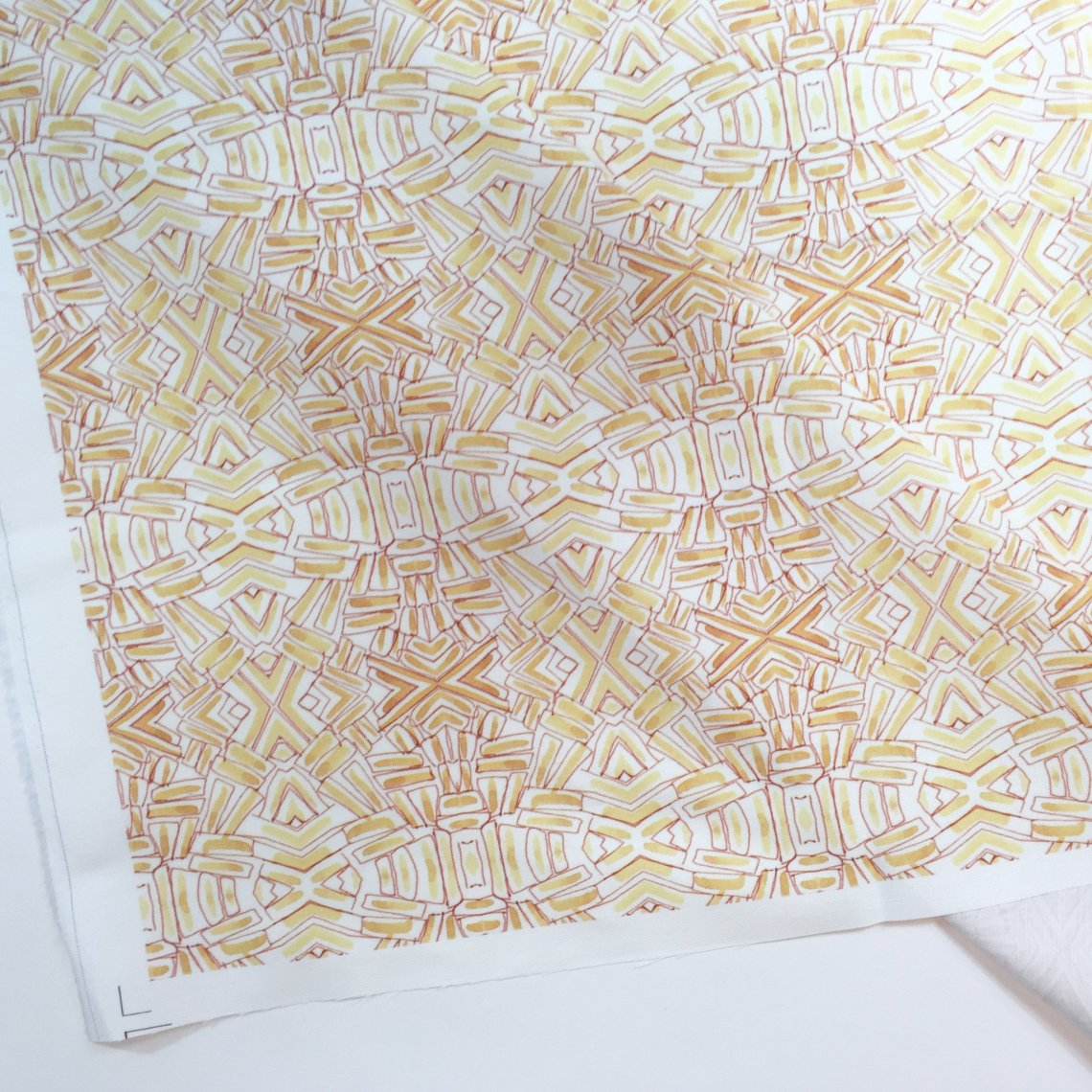 Yellow Grass Fabric