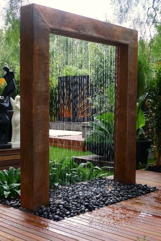 Modernist Rain Shower