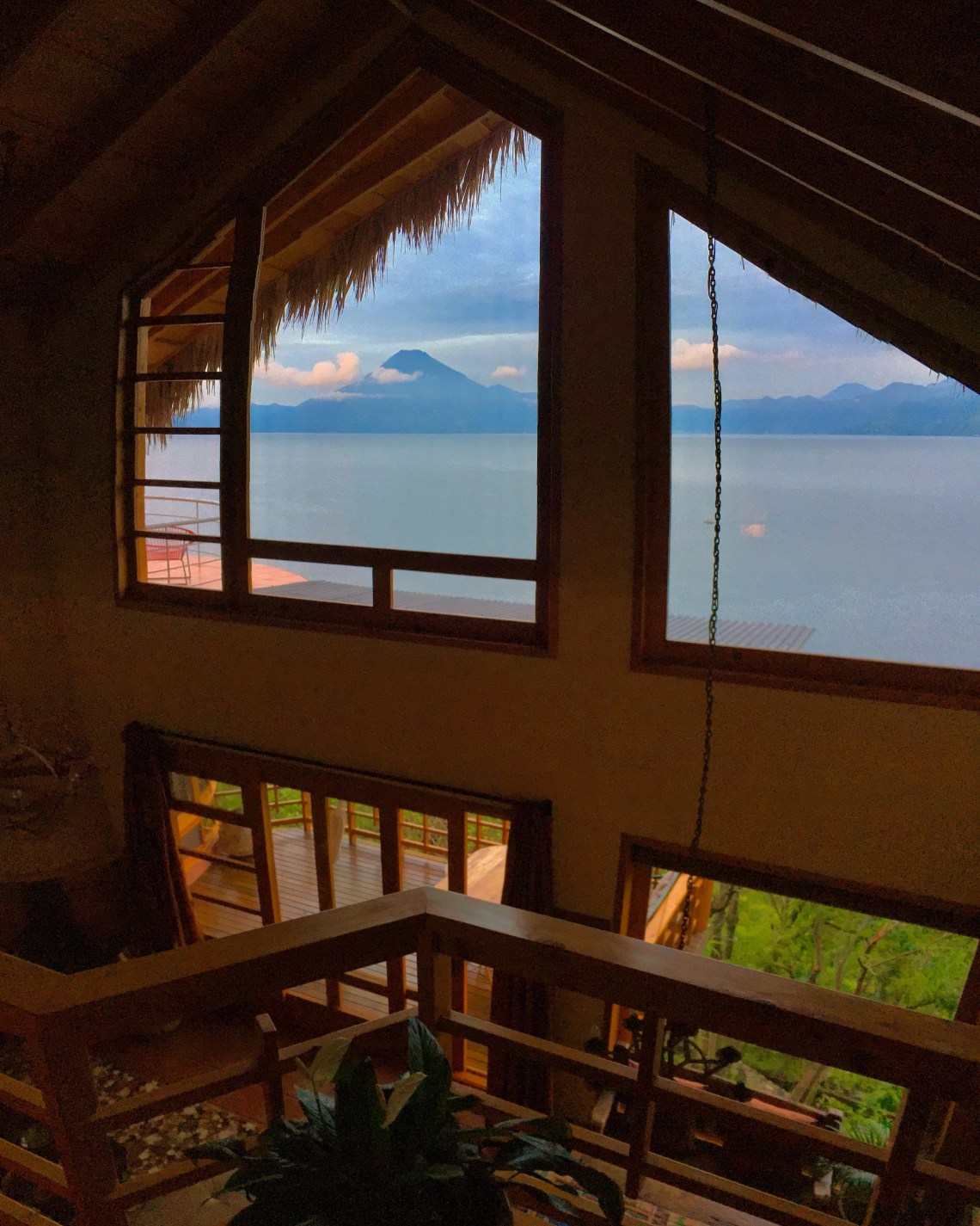 Volcano Views + Thatch Roof + High Ceilings