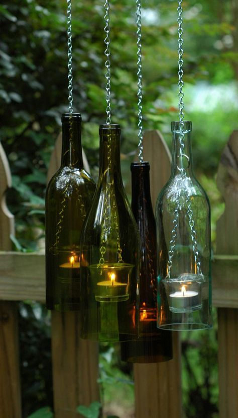Suspended Candles