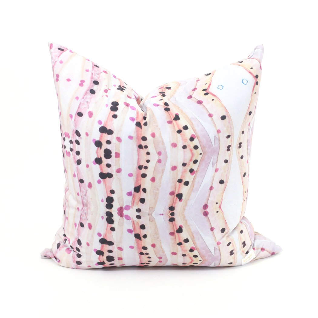 Rose Jade Modern Pillows