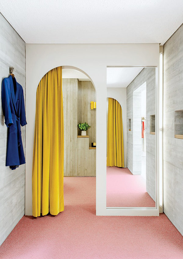 Colorful Carpets and Curtains