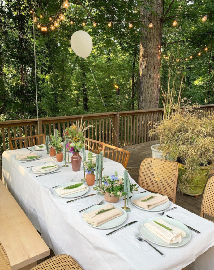 Fall Dinner Party Tabletop