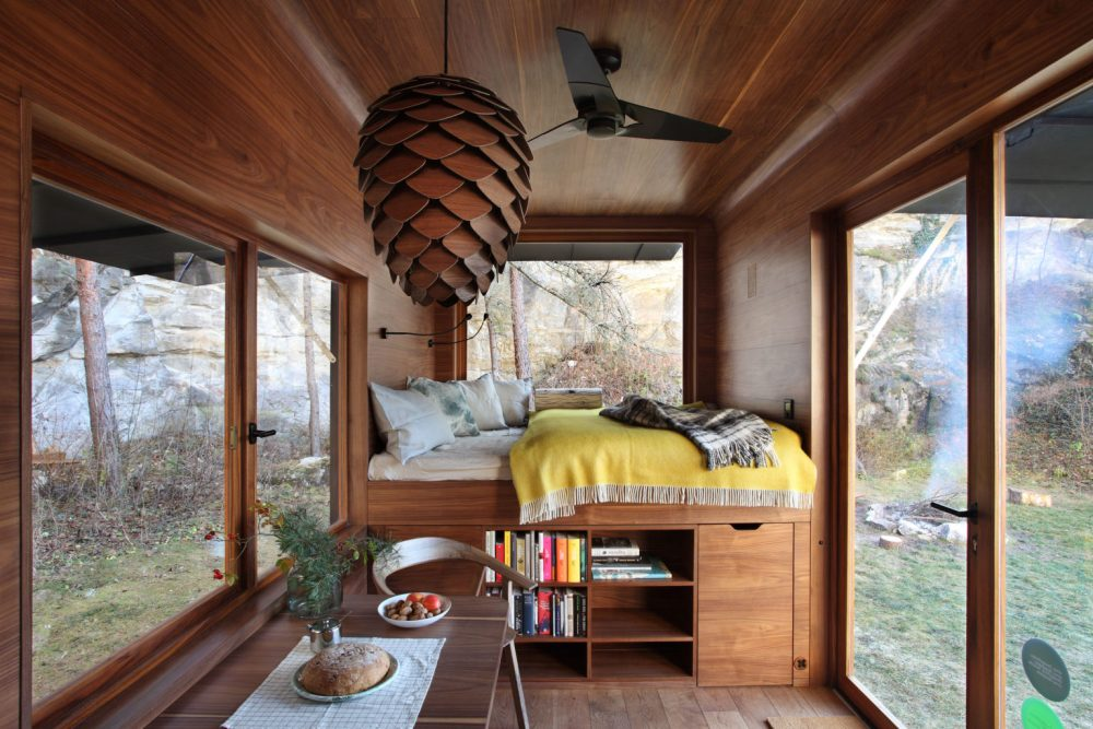 Eclectic Fall Cabins