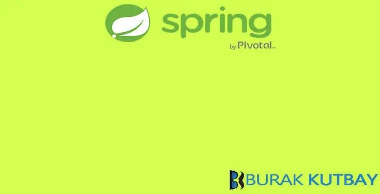 Spring Boot Thymeleaf Ajax Proje Uygulama Örneği – Burak