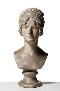 Bertel Thorvaldsen: Wilhelmine Benigna Biron, 1818, Originalmodel. Gips. 58 cm; Thorvaldsens Museum, Inv.-Nr.: A312
