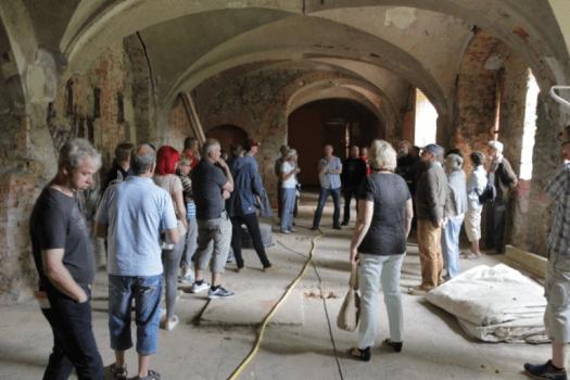 Führung im historischen Herrenhaus zum internationalen Museumstag 2017.