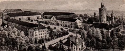 Das Rittergut Posterstein um 1900, Museum Burg Posterstein