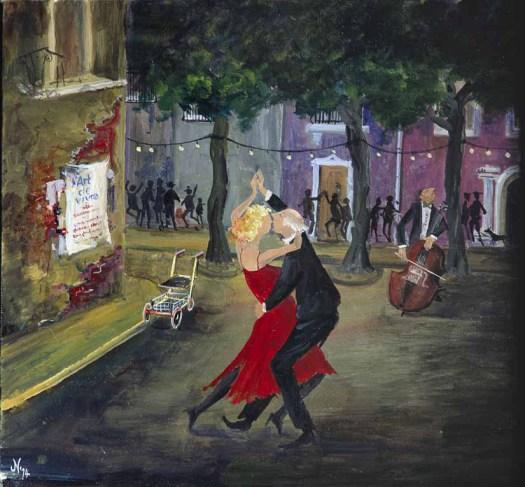 Hans Neupert: Der letzte Tanz, 2014.