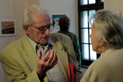 Hans Neupert im Gespräch, 2015.