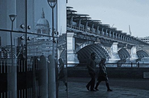 (c) Frank Rüdiger: Blackfriars Bridge, 2017
