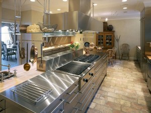 Proffesional residential kitchen