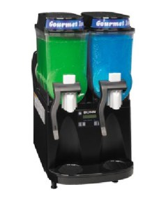Double frozen granita dispenser