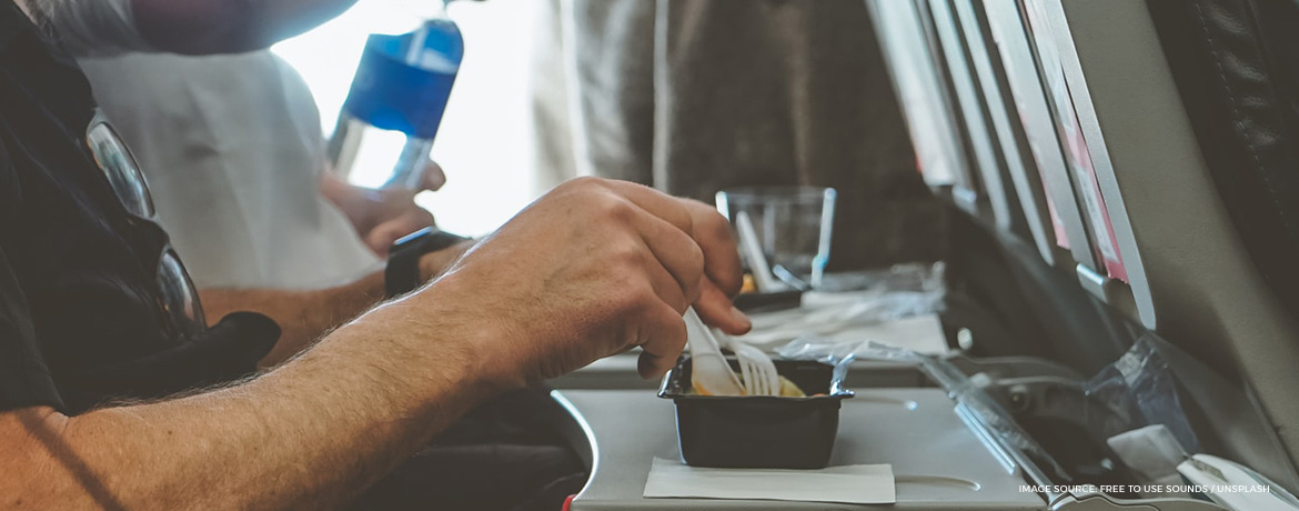 How airplane food has changed in the last 100 years