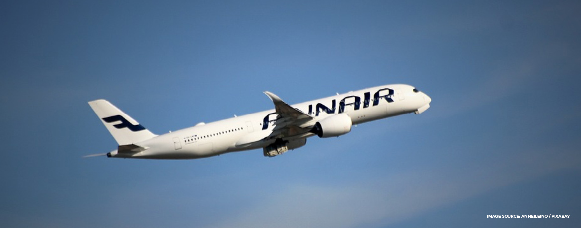 Experience the clean and minimalist business class on Finnair