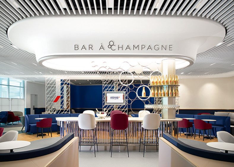 Air France Orly Lounge bar