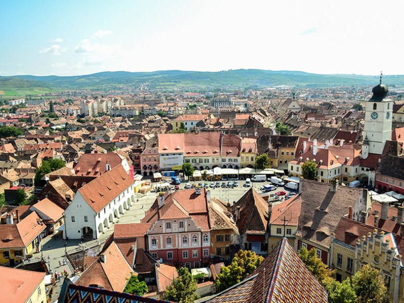 Romantic Destination Sibiu Romania