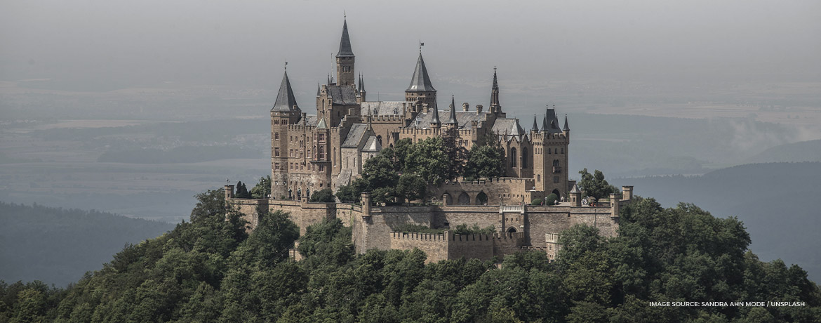 Where to see the most beautiful castles in Europe