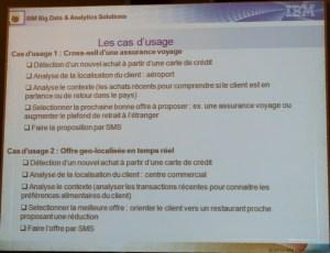Cas d'usage Big Data par IBM