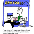 Cartoon critical of big data application, by T. Gregorius - Source : http://en.wikipedia.org/wiki/Big_data
