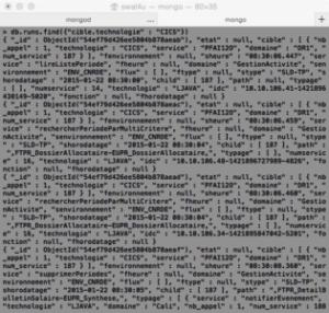 MongoDB recherche de documents