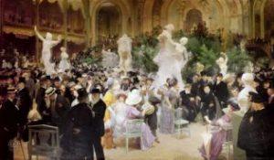 Un vendredi au Salon des Artistes français (1911) Source ; Wikimedia