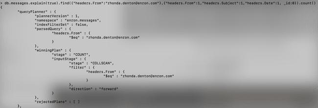 [Tutoriel] MongoDB : Indexation et performance - enron-explain-query9