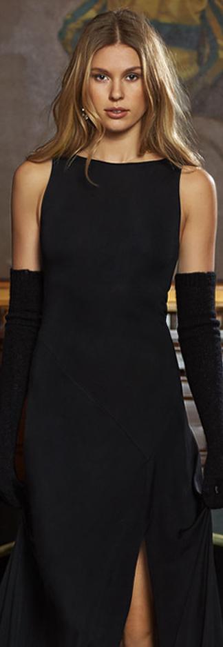 RL Jersey Sleeveless Maxi Dress