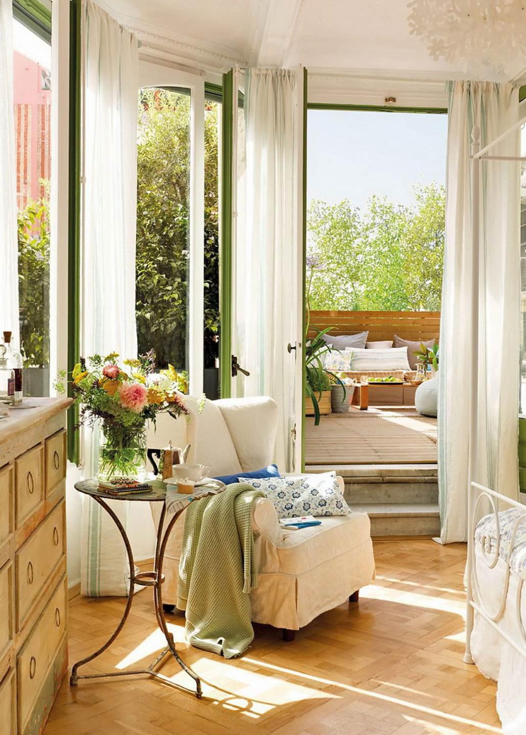 Spring decorating ideas spring home decor design ideas - Spring living room decorating ideas ...