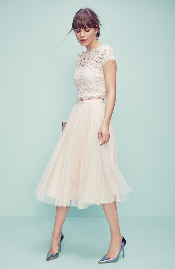 Adrianna Papell Top & Skirt