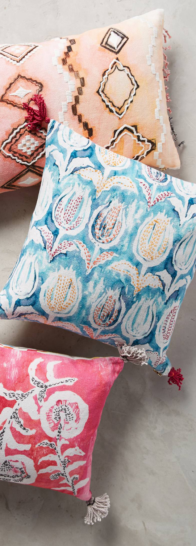 Belmont Bloom Pillows