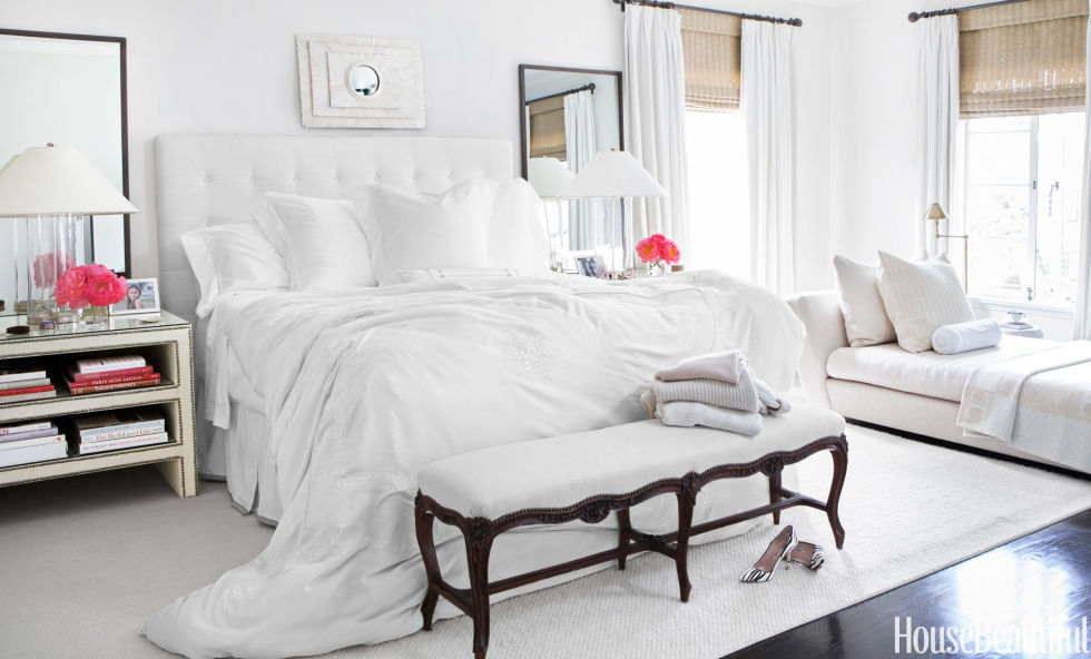 White Summer Bedroom