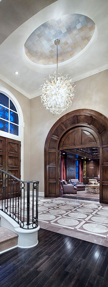 Jauregui Architects | Entry |Classic Transitional
