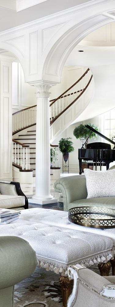 Jauregui Architects | Southern Mississippi Living Room