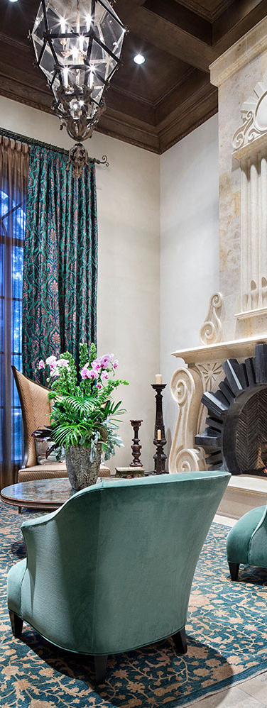 Jauregui Architects | Moroccan Living Room