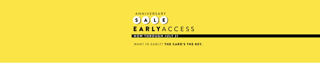Nordstrom Anniversary Sale | Early Access