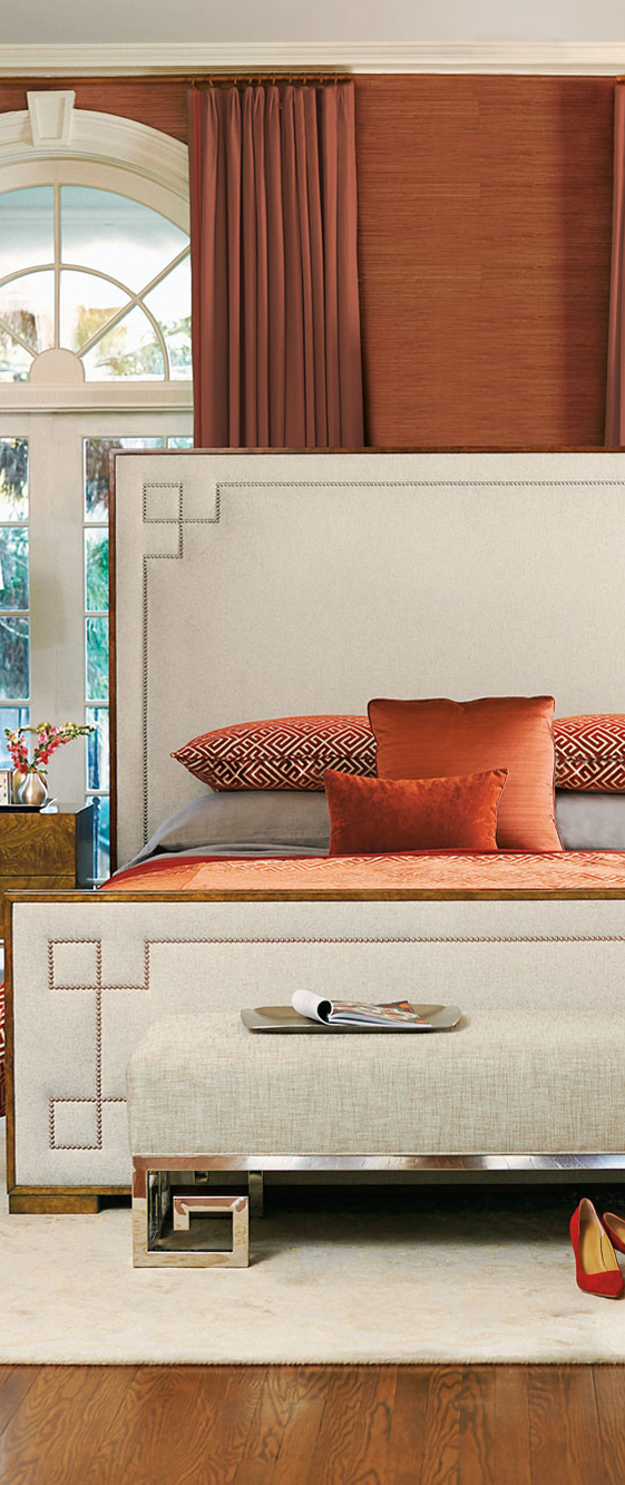 Bedroom in Orange