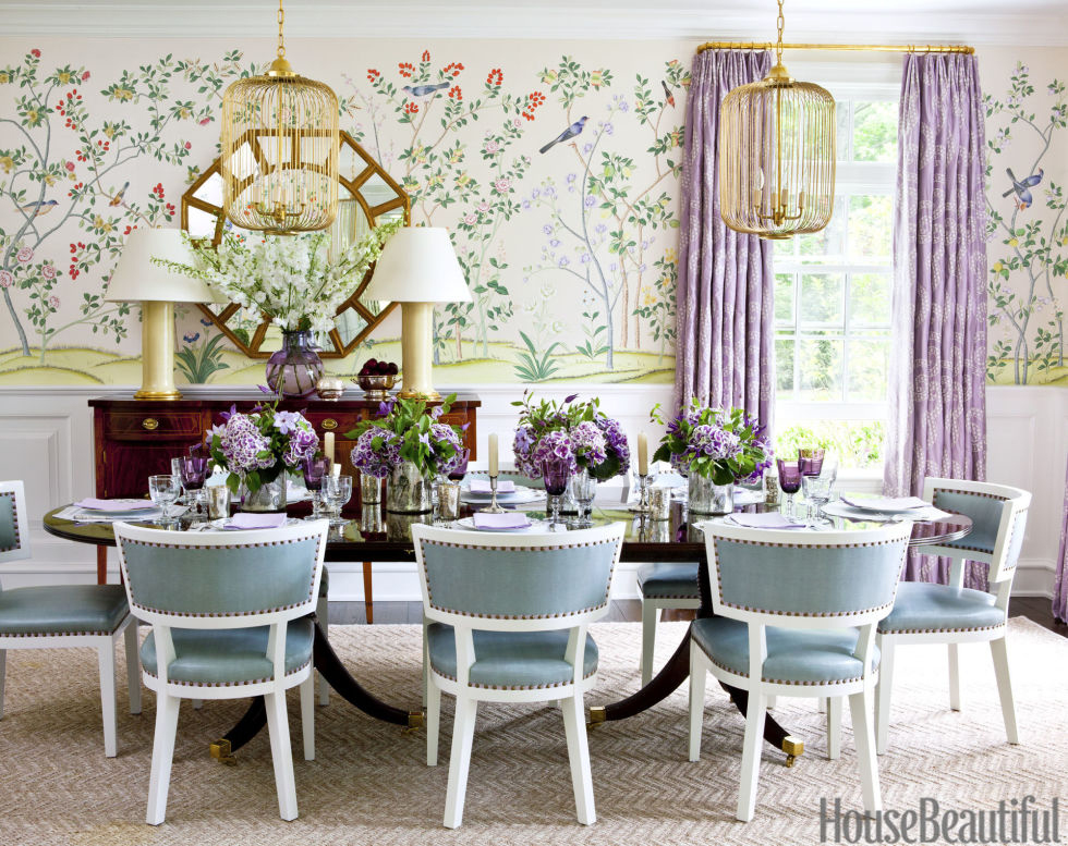 Ashley Whittaker | Decorating with Purple