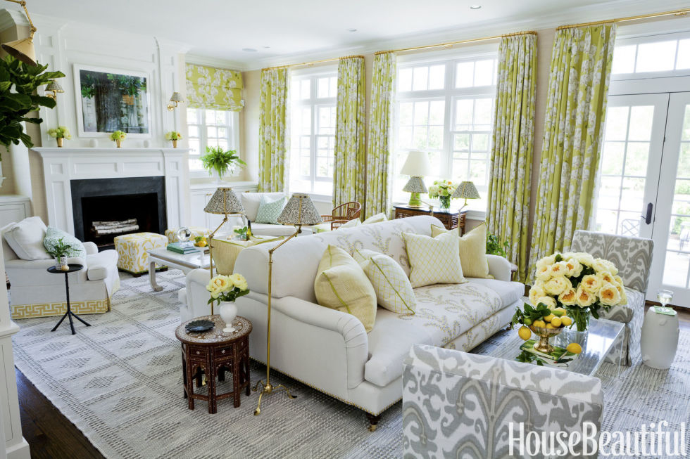 Ashley Whittaker | Yellow Living Room