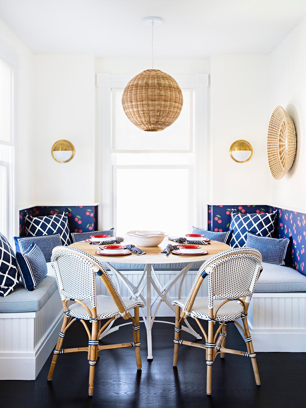 Blue in Scandinavian Design