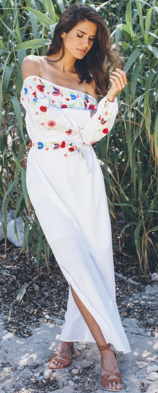 Pampelone Evissa Maxi Dress