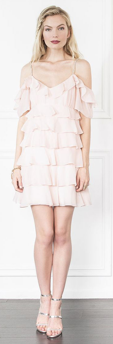 Rachel Zoe Persei Silk Persei Mini Dress