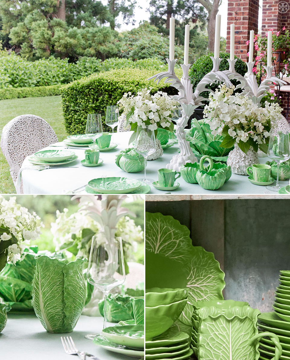 Tory Burch Luttuce Dinnerware Collection