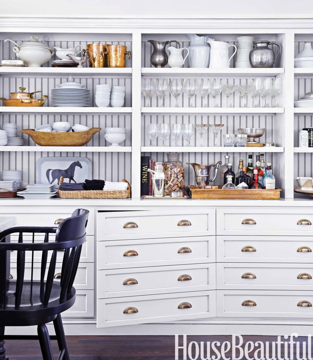 Globally Inspired Kitchen | Storage