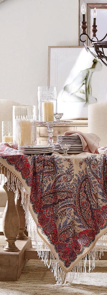Fall Decorating | Artisanal Vintage | Sashi Fringed Throw