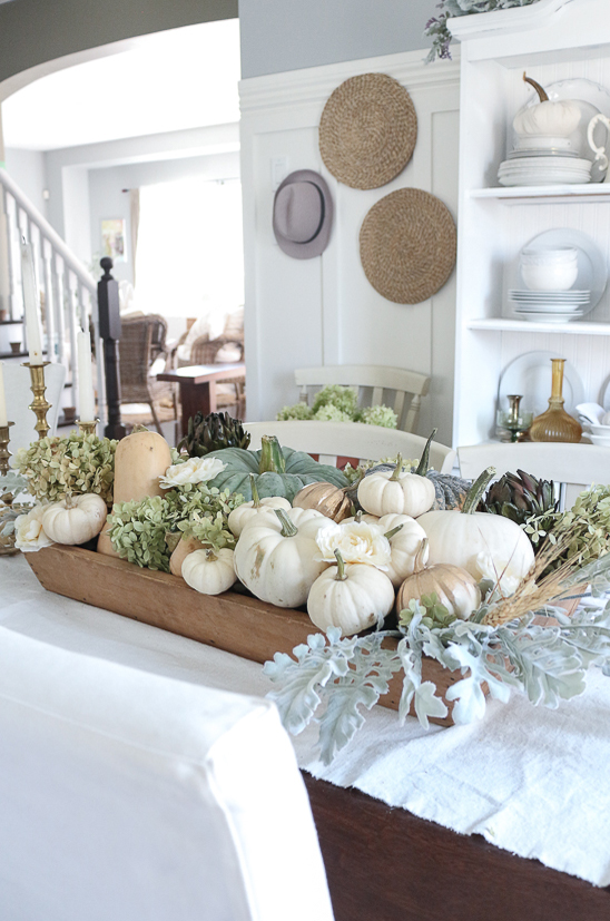 Fall Table Display