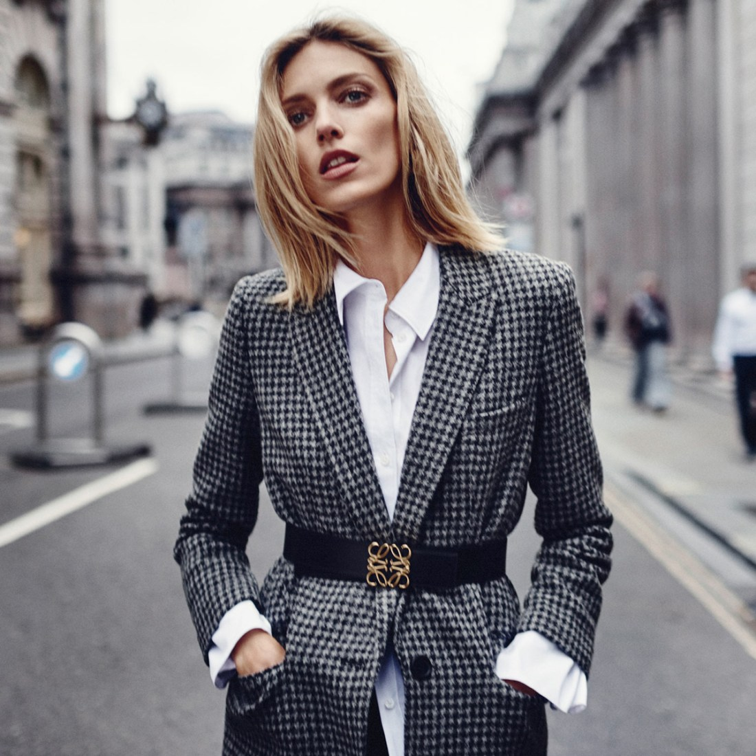 Fall Outerwear 2017   Anja Rubik for Net-A-Porter