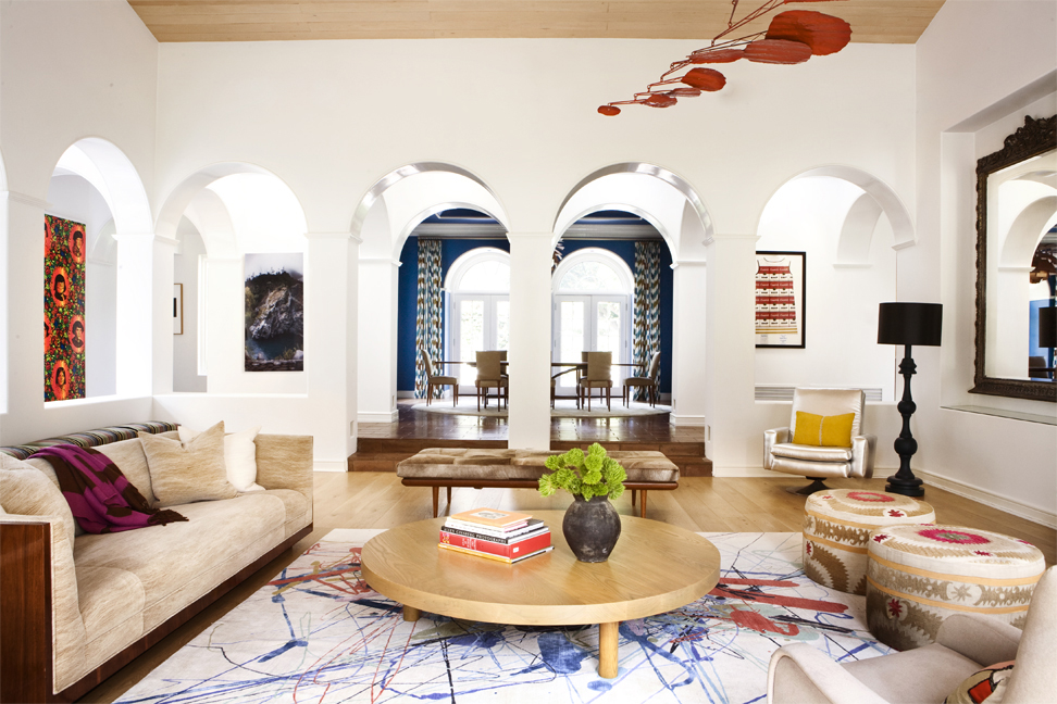 Nickey Kehoe   Bohemian Living Room