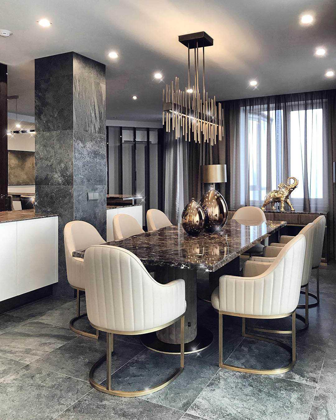 Constantin Frolov Interior Design | Luxury Dining Room