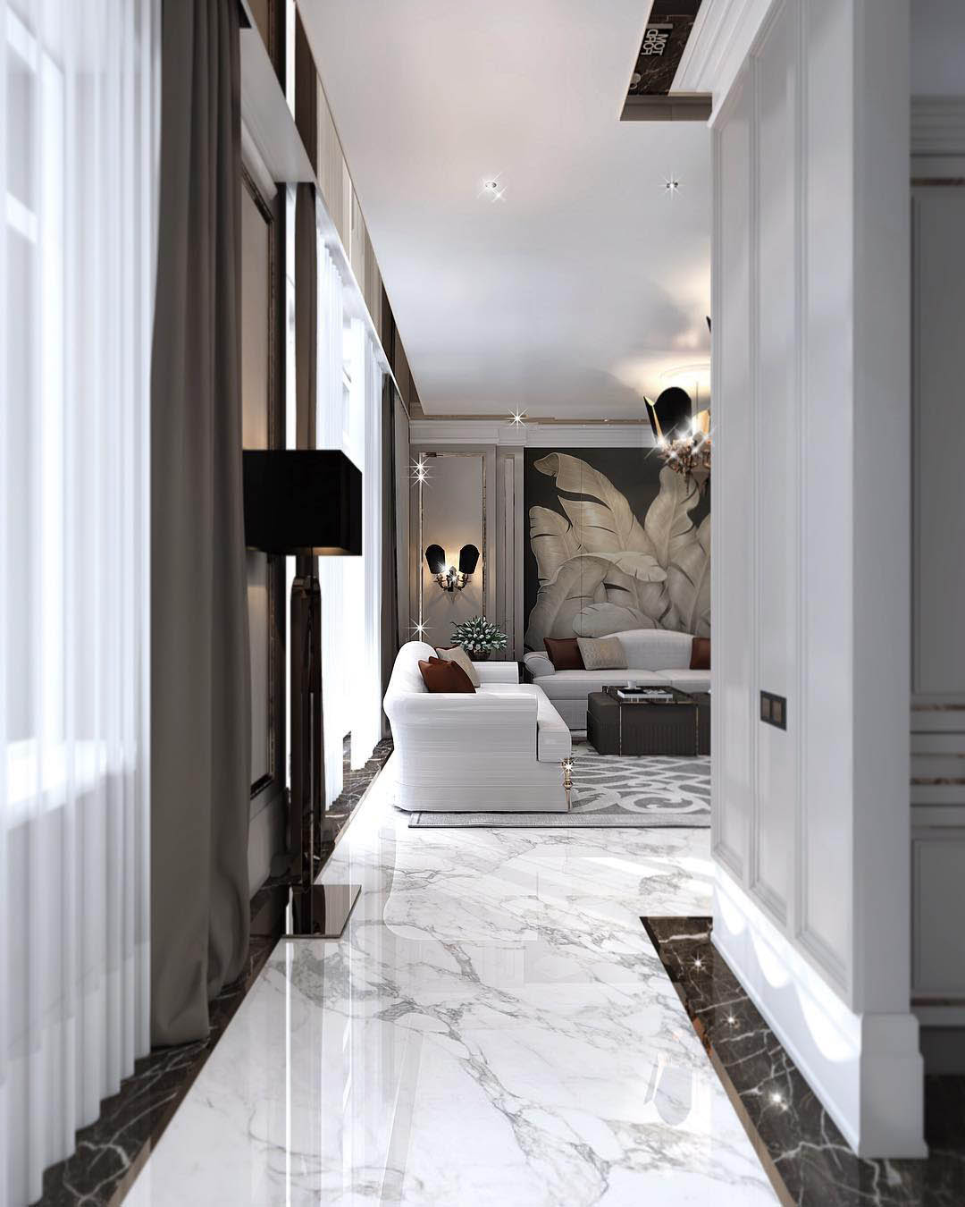 Constantin Frolov Interior Design   Glamorous Homes